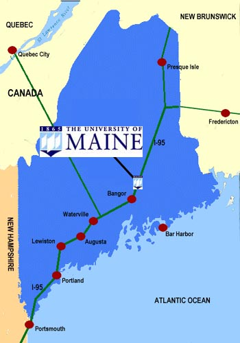 Directions To The University Of Maine Campus